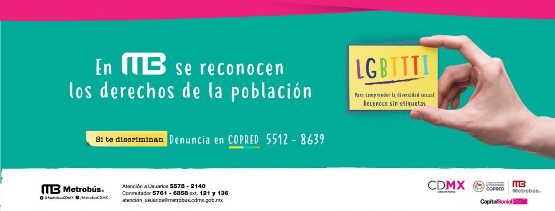 Derechos de la Comunidad LGBTTTI