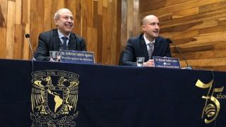 Presentación Tarjeta Conmemorativa del 75 aniversario del Instituto de Geografía de la UNAM