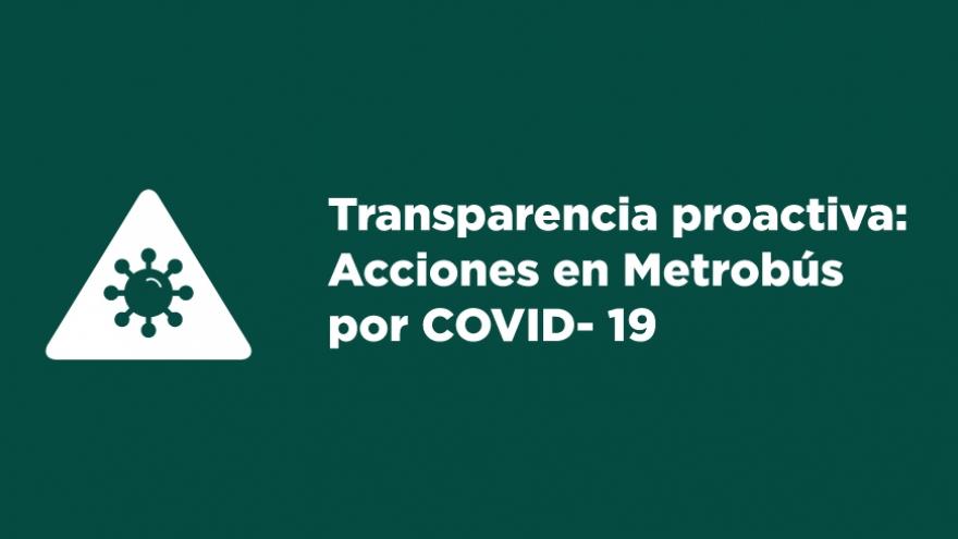 Medidas de prevención ante el COVID-19
